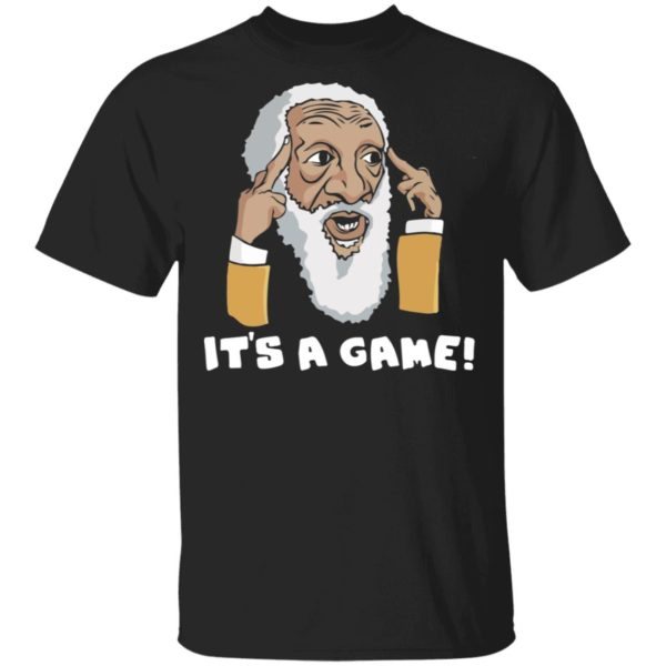 Dick Gregory It's a game shirt
