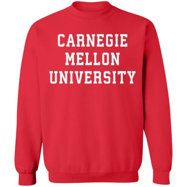 Carnegie Mellon University shirt