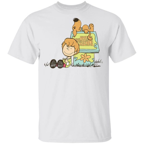 Scooby Doo Snoopy house shirt