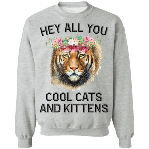 Joe Exotic Tiger Hey all you cool cats and kittens shirt 9