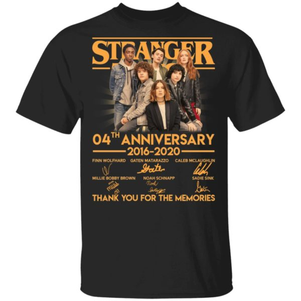 Stranger Thing 4th Anniversary shirt