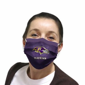Baltimore Ravens face mask Filter PM2.5 inner Pocket