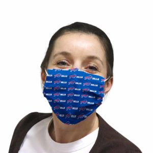 Buffalo Bills face mask Filter PM2.5 inner Pocket