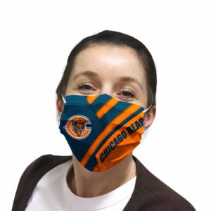 Chicago Bears face mask Filter PM2.5 inner Pocket