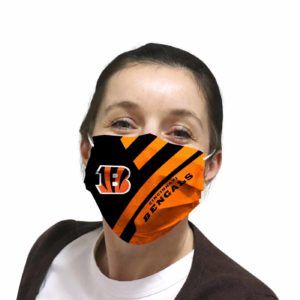 Cincinnati Bengals face mask Filter PM2.5 inner Pocket