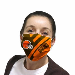 Cleveland Browns face mask Filter PM2.5 inner Pocket