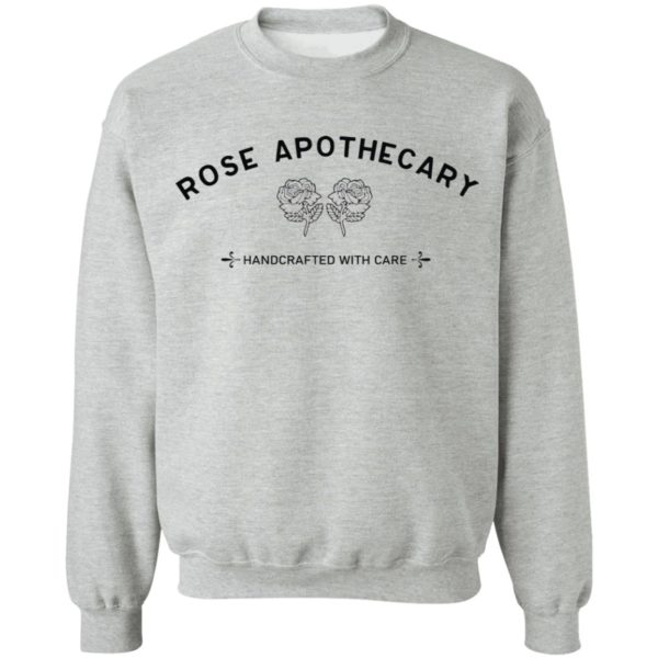 Rose Apothecary Handcrafted With Care shirt 9