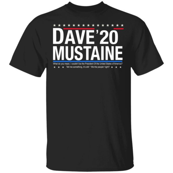 Dave Mustaine 2020 shirt