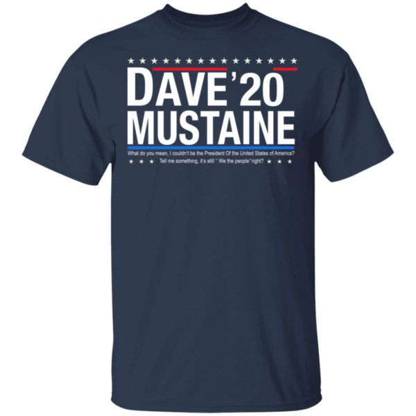 Dave Mustaine 2020 shirt 2