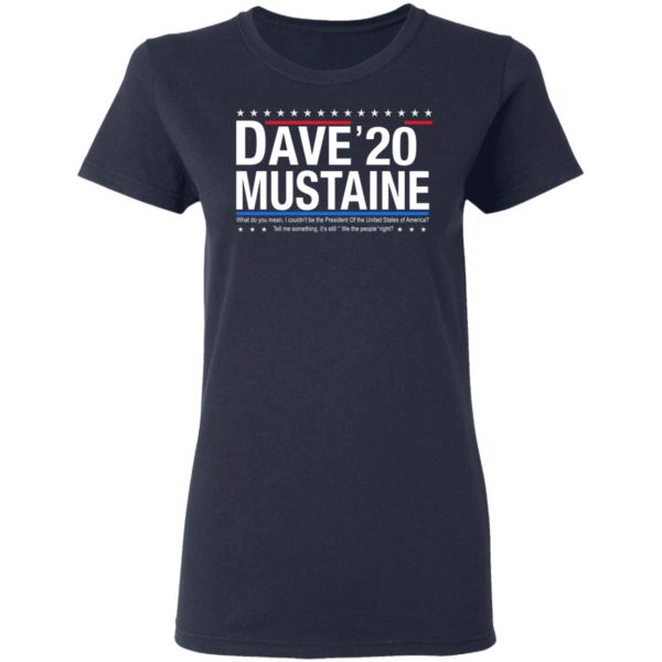 Dave Mustaine 2020 shirt 4