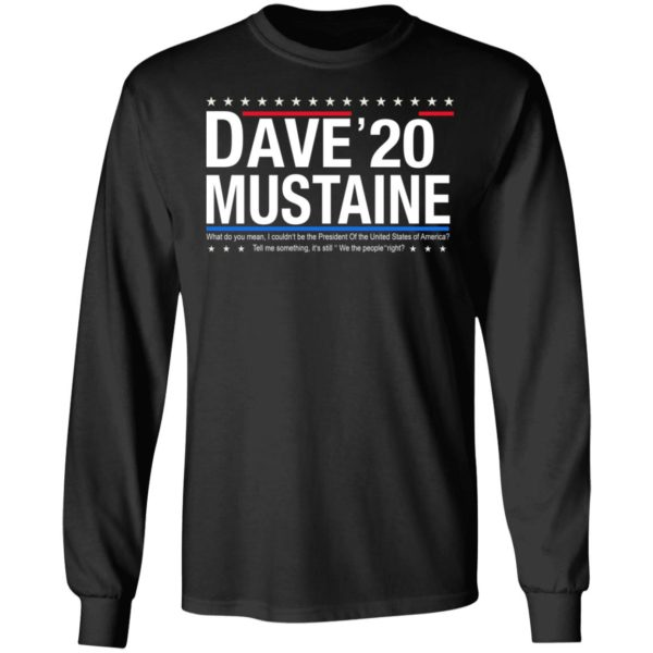 Dave Mustaine 2020 shirt 5