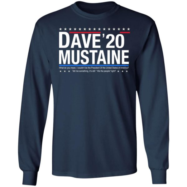 Dave Mustaine 2020 shirt 6