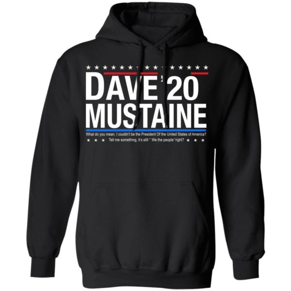 Dave Mustaine 2020 shirt 7