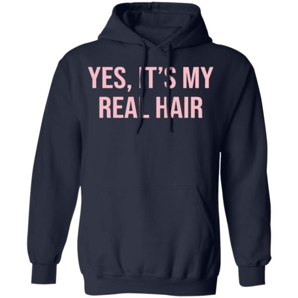 Yes It's my real hair shirt 8