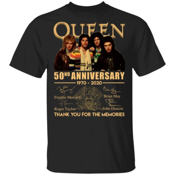 Queen 50nd Anniversary shirt
