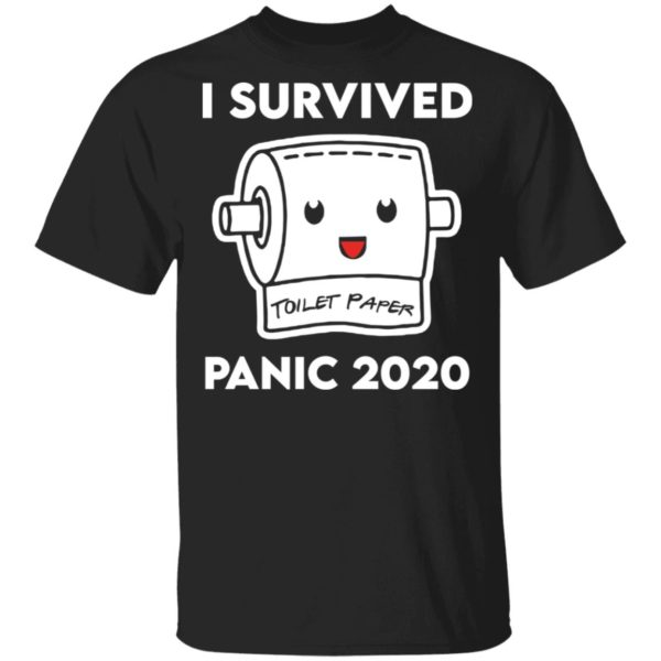 I survived panic 2020 shirt