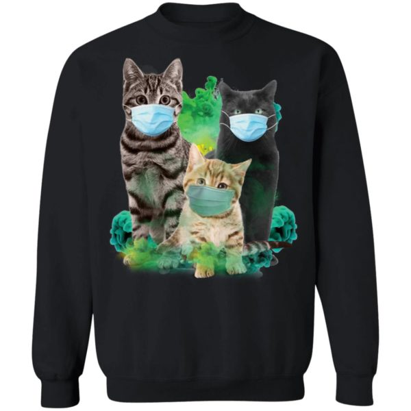 Cats wearing m*sk face m*sk 9