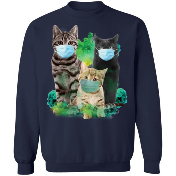 Cats wearing m*sk face m*sk 10