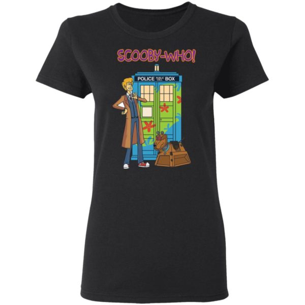 Scooby Doo Doctor Who Scooby who shirt 3