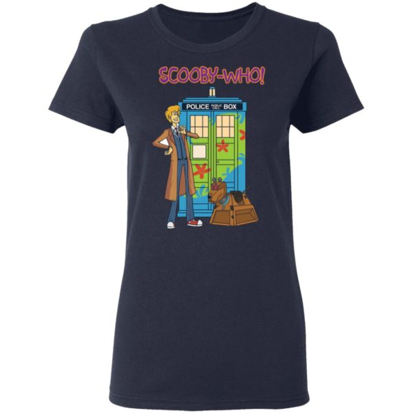Scooby Doo Doctor Who Scooby who shirt 4