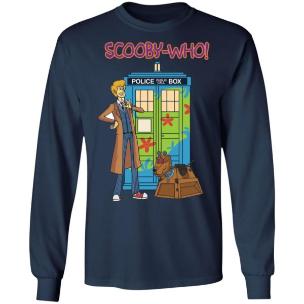 Scooby Doo Doctor Who Scooby who shirt 6