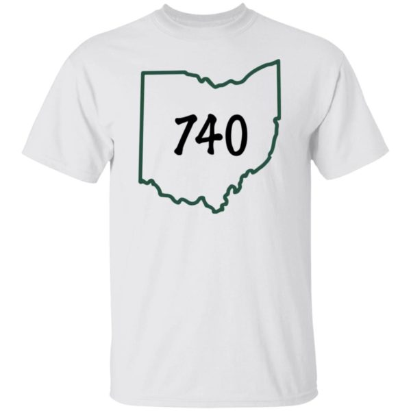 Joe Burrow 740 area code shirt