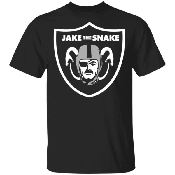 Raiders jake the snake shirt