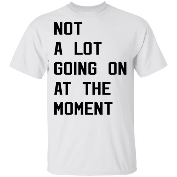Taylor Swift not a lot going on at the moment shirt 1