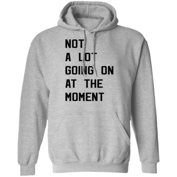 Taylor Swift not a lot going on at the moment shirt 7