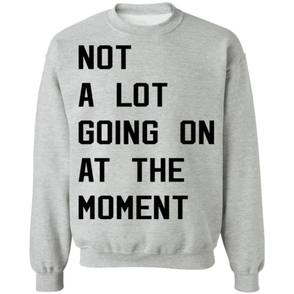 Taylor Swift not a lot going on at the moment shirt 9