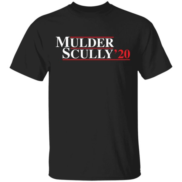 Mulder Scully 2020 shirt