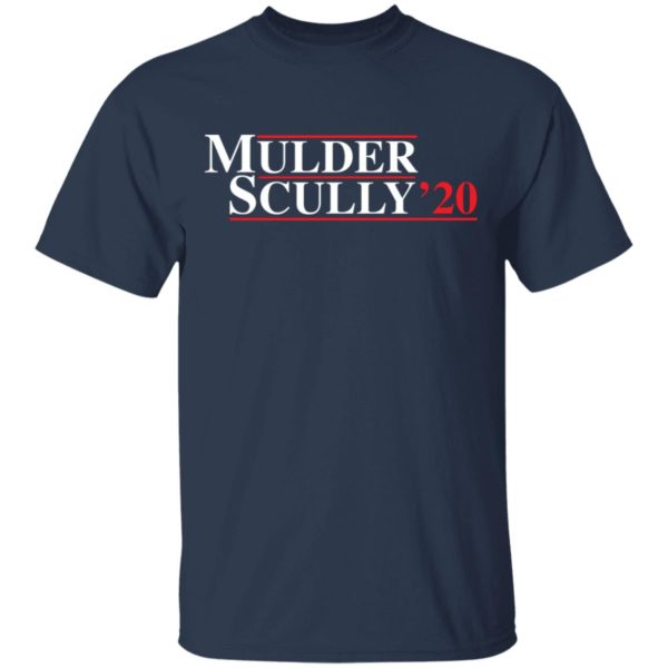 Mulder Scully 2020 shirt 2