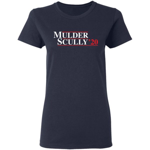 Mulder Scully 2020 shirt 4