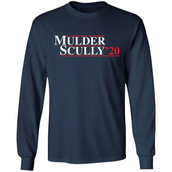 Mulder Scully 2020 shirt 6