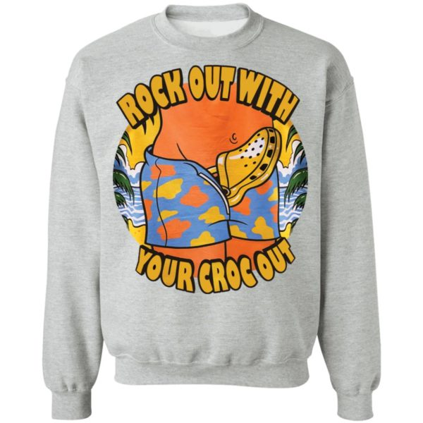 Crocs Rock out with your croc out shirt 9