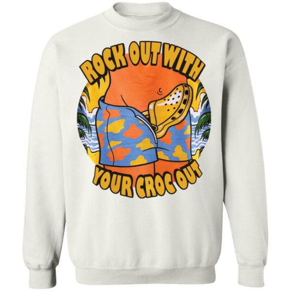 Crocs Rock out with your croc out shirt 10