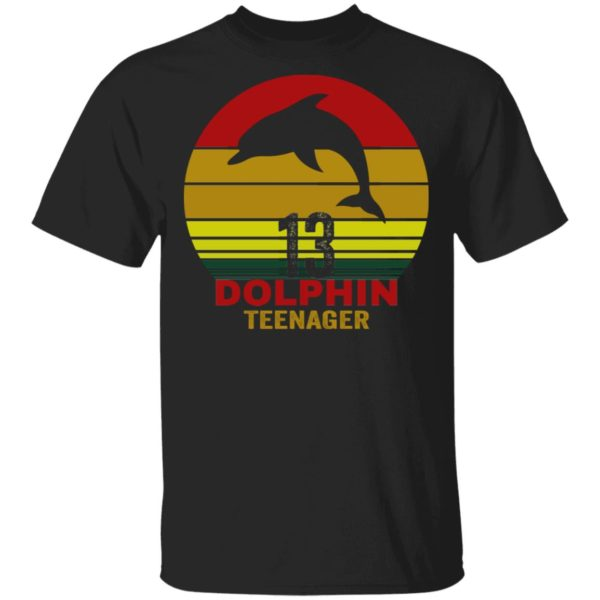 13 Dolphin teenager shirt