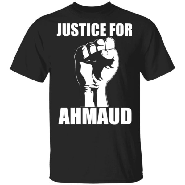Justice for Ahmaud shirt