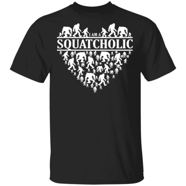 Bigfoot I am squatcholic shirt