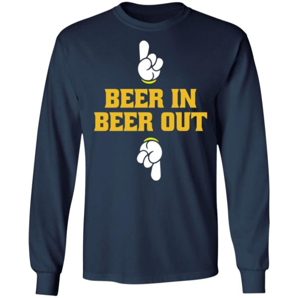 Beer in beer out shirt 6