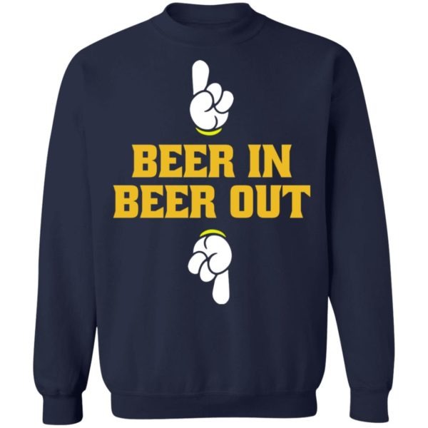 Beer in beer out shirt 10