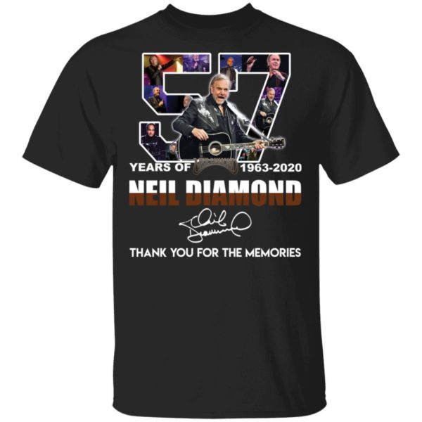 O 57 Years of Neil Diamond shirt