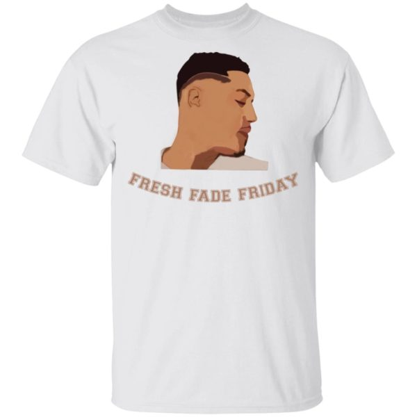 Fresh fade fridays royal palm shirt