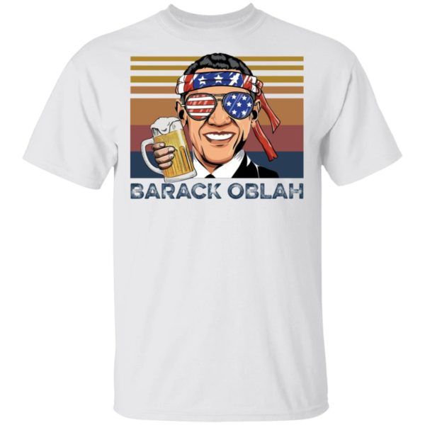 Barack Obama Oblah shirt