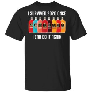 I survived 2020 once I can do it again MD 2020 shirt