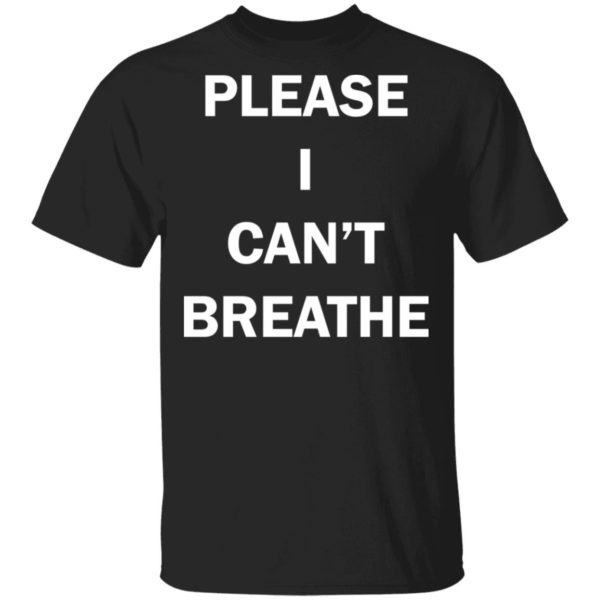 Please I can't breathe Nick Cannon shirt