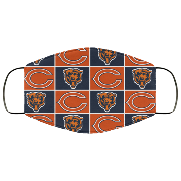Chicago Bears face mask washable, Reusable