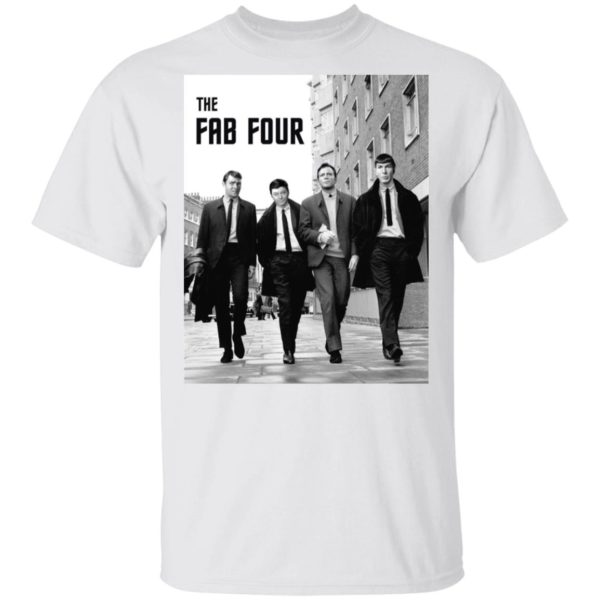 The Fab Four Star Trek shirt