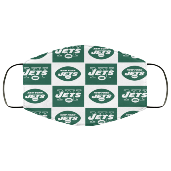 New York Jets face mask Washable, Reusable