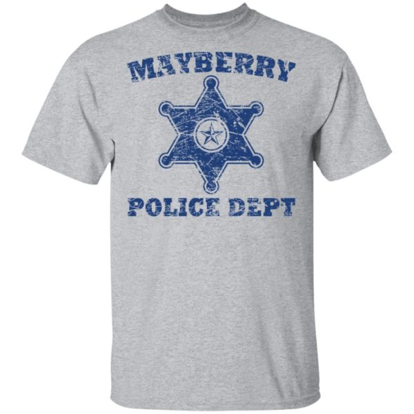 Mayberry police dept shirt 2